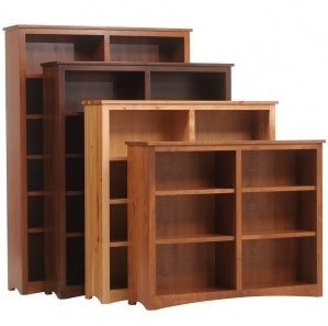 "Prairie Mission 60"" Bookcase"