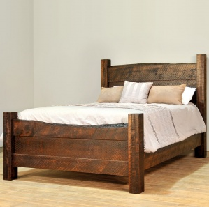 Live Edge Amish Bed