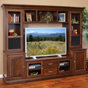 Oxford Amish Entertainment Center