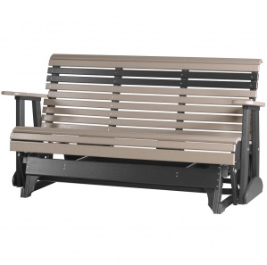 Shady Shore Poly Amish Glider with Console