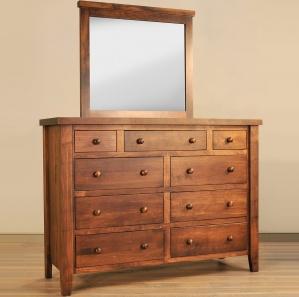 Cutter Hill Amish Dresser & Optional Mirror