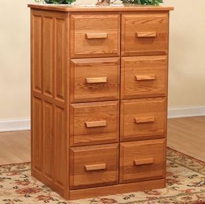 Pomeroy Double Wood File Cabinet