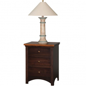 Brandywine 3 Drawer Nightstand