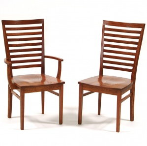 Capri Wood Amish Dining Chairs