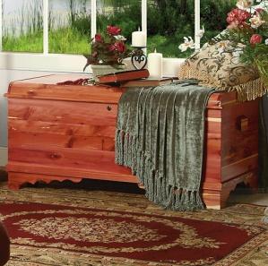 Newport Cedar Amish Blanket Chest