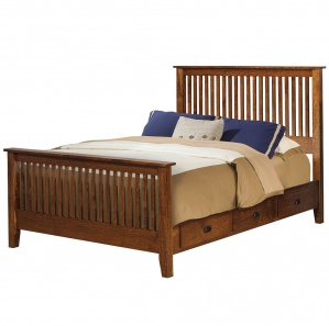 Calmont Mission Amish Bed