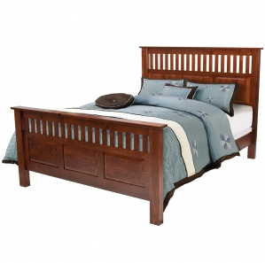 Antique Mission Amish Bed