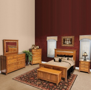 Leighland Amish Bedroom Furniture Set