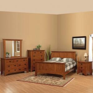 Linden Street Amish Bedroom Set