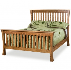 Trestle Amish Bed