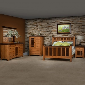 Maple Creek Amish Bedroom Set