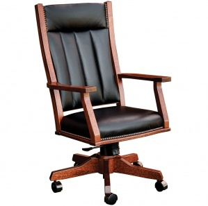 Mission Amish Office Chair