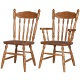 Country Harvest Amish Dining Chairs