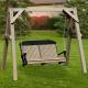 Vinyl A Frame Amish Porch Swing Stand