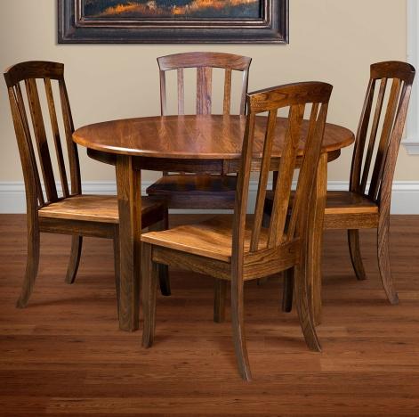 Cassady 5 Piece Amish Kitchen Table Set Cabinfield Fine Furniture
