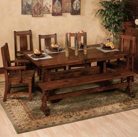 Brookside Amish Dining Room Set
