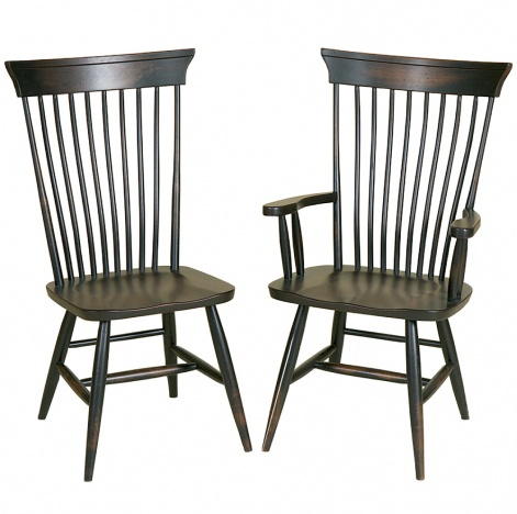 Concord Amish Dining Chair Amish Dining Room Furniture
