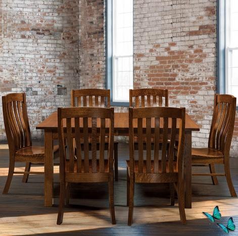 Houghton Amish Kitchen Table Set