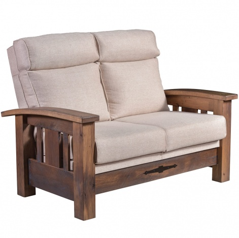Incredible Tiverton Amish Loveseat Unemploymentrelief Wooden Chair Designs For Living Room Unemploymentrelieforg