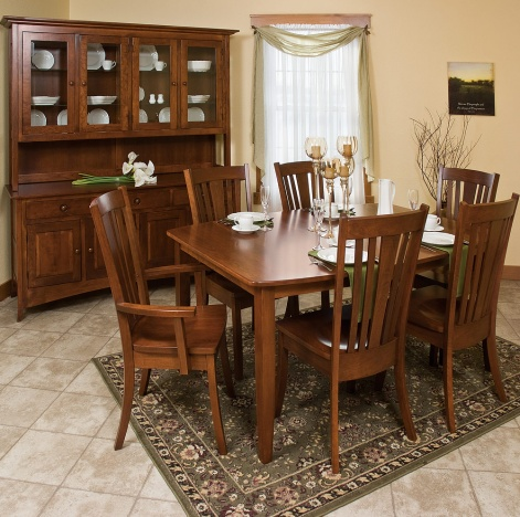 Madison Amish Dining Room Set Table Cabinfield Fine Furniture