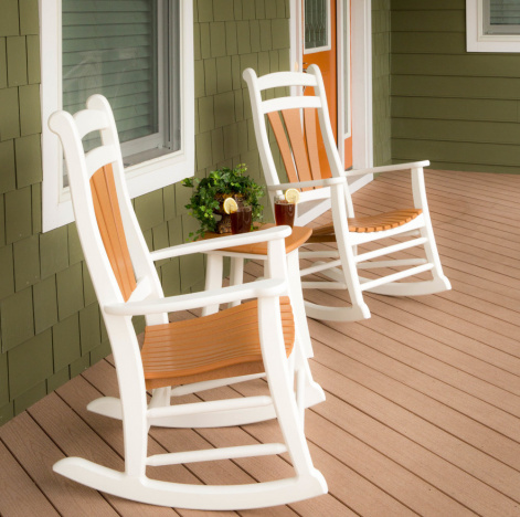 High Tide Amish Outdoor Rocking Chair