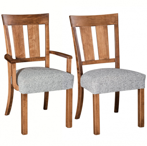 Kinset Amish Dining Chairs Handmade Amish Furniture Cabinfield Fine Furniture