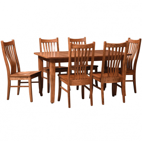 Marvelous Clemson Amish Dining Room Set Beutiful Home Inspiration Aditmahrainfo