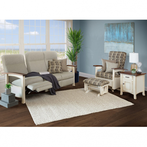 Stupendous Breezy Point Amish Living Room Seating Set Gmtry Best Dining Table And Chair Ideas Images Gmtryco