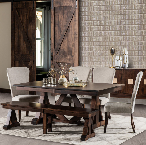 Eclectic Collection Vadim Series Vadim Amish Dining Set