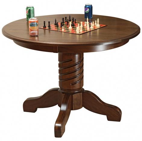 Lexington Round Amish Table Amish Office Furniture