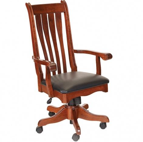 Hampton Amish Desk Chair Amish Handmade Furniture