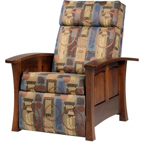 Leather Recliner Armchair Upholstery Fabric Cushion Living Room