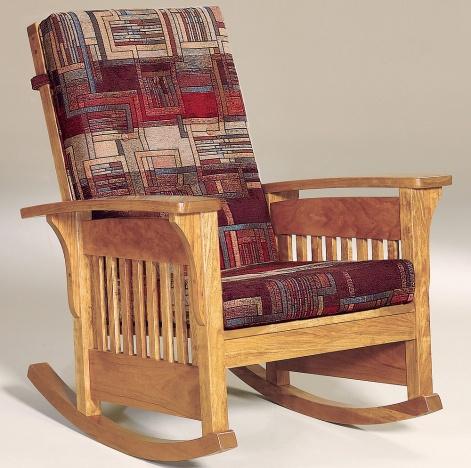 Dakota Amish Rocking Chair