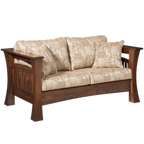 Tremendous Gateway Amish Loveseat Unemploymentrelief Wooden Chair Designs For Living Room Unemploymentrelieforg