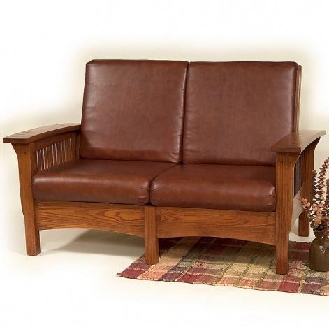 Pleasant Monte Vista Amish Loveseat With Ottoman Option Unemploymentrelief Wooden Chair Designs For Living Room Unemploymentrelieforg