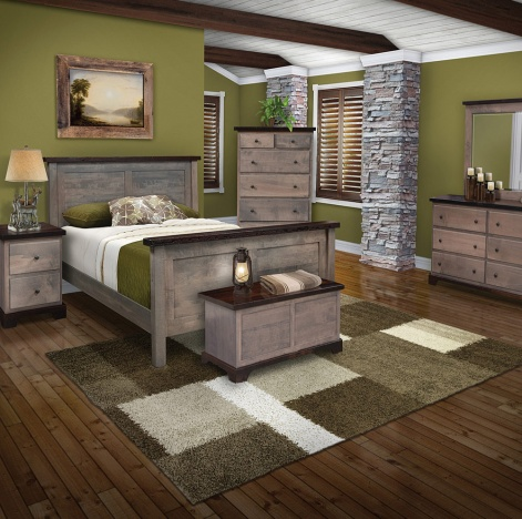 Modern Bedroom Set Twin Bed 6 Drawer Dresser Chest Of Drawers Small Nightstand Storage Bench