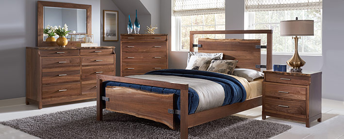 Contemporary Bedroom Furniture - Amish Bed Sets | Cabinfield Fine ...