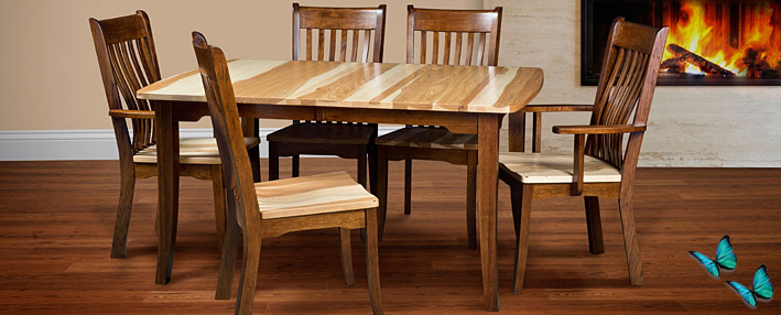Berkley Trestle Table Dining Chairs Buffet Miramar Series