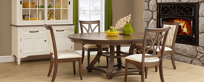 Contemporary Amish Dining Room Sets