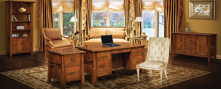 Amish Office Furniture Artesa Series