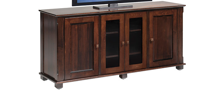 Amish TV Stands Consoles Living Room Furniture