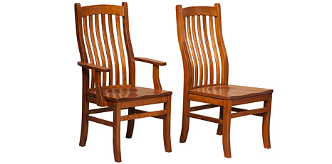 Amish Dining Room Chairs U0026 Bar Stools