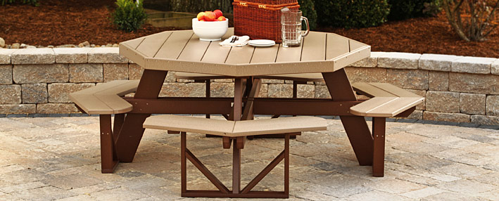Meadow Grove Picnic Table Collection