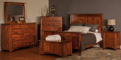 Amish Bedroom Furniture: Amish Beds & Amish Dressers | Cabinfield ...