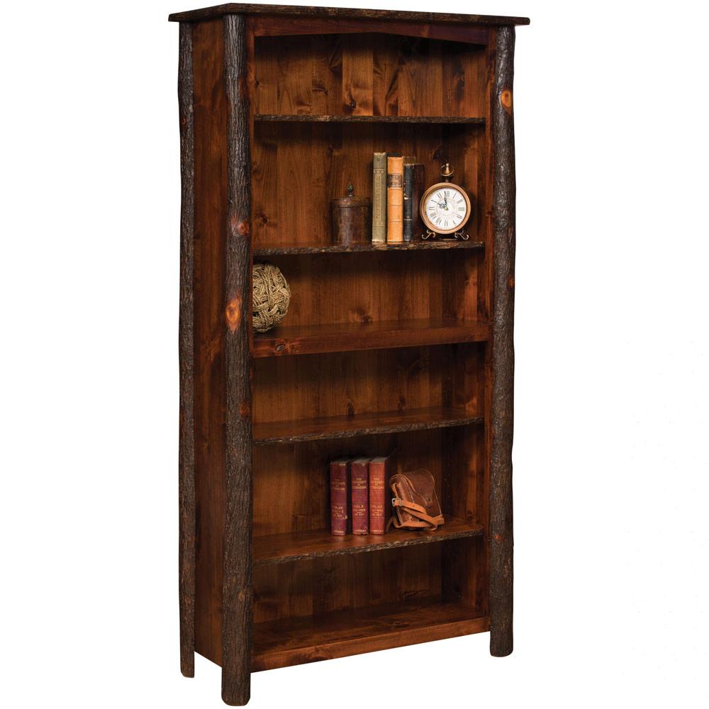 Bearlodge Amish Bookcase Rustic Furniture