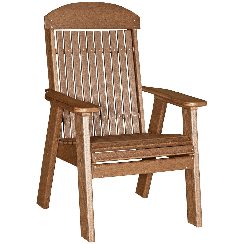garden glen highback chair amish patio furniture cabinfield fine rh cabinfield com amish patio furniture iowa amish patio furniture cedarburg wi