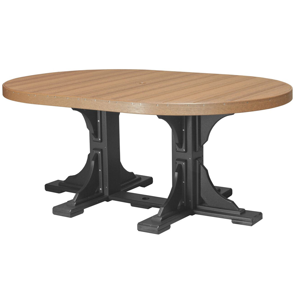 Glade Haven Oval Patio Table