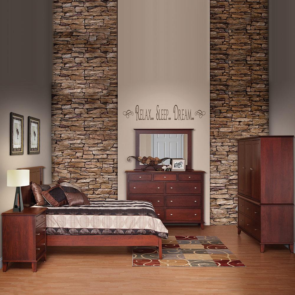 Modern Master Bedroom Set Handcrafted Solid Wood Bedroom Furniture Custom Made Soho
