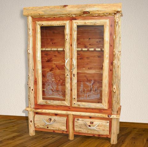 Handmade Gun Cabinet