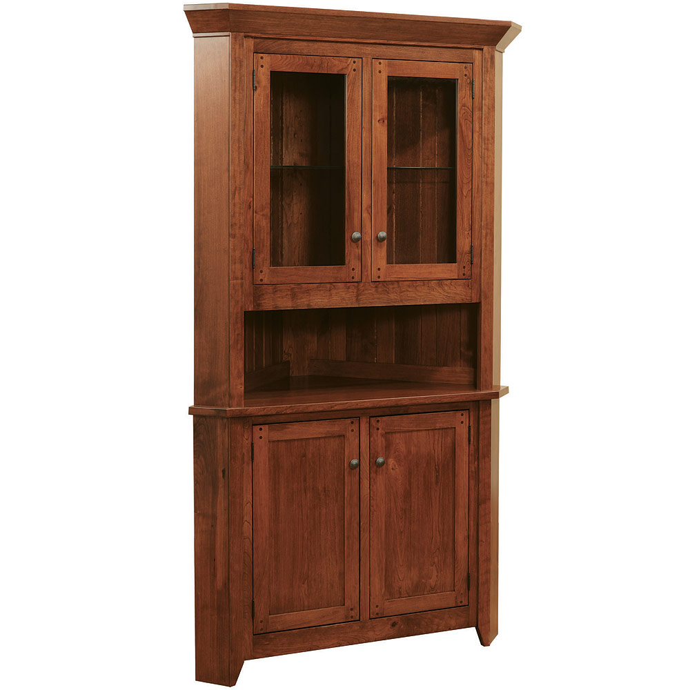 Amish Sideboards Amp Buffets Frontier Corner Buffet With